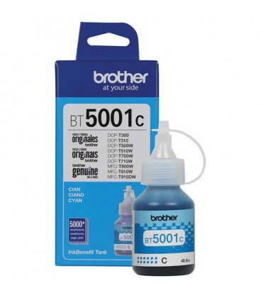 TINTA BROTHER BT5001C CIAN