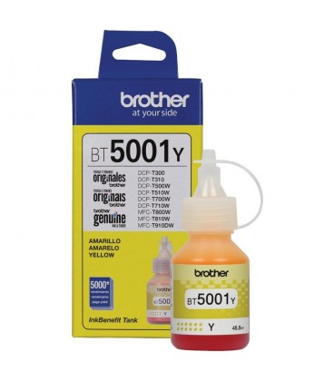 TINTA BROTHER BT5001Y YELLOW